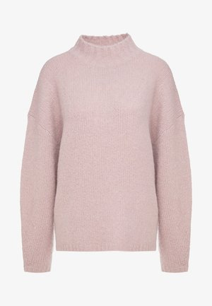 DROP SHOULDER  - Pullover - dusty rose