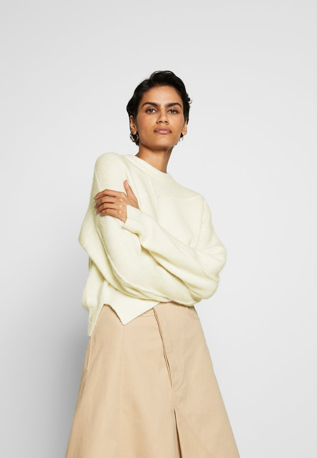 LOFTY BASKET PULLOVER - Jumper - white