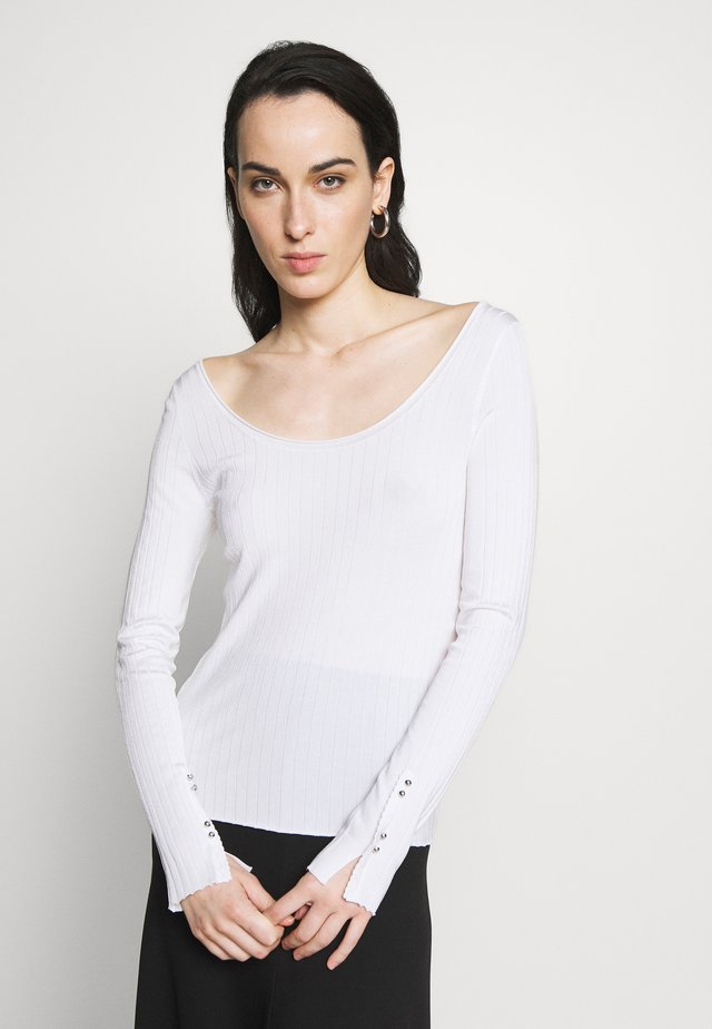 TUNIC - Jumper - optic white