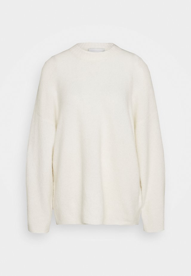 CREW NECK - Strickpullover - off white