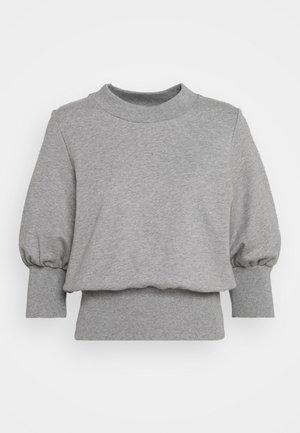 PUFFY FRENCH TERRY - Sweater - grey melange