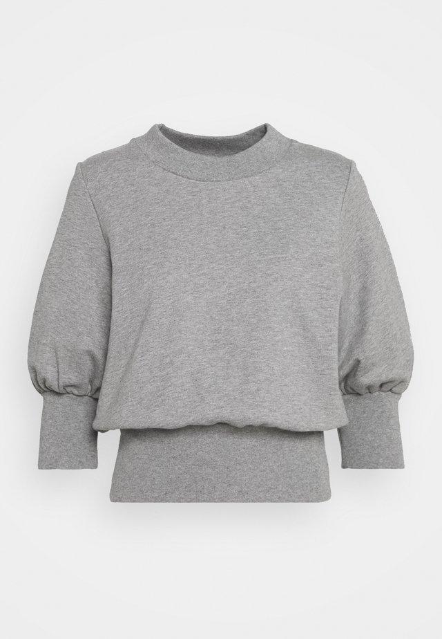 PUFFY FRENCH TERRY - Sweatshirt - grey melange