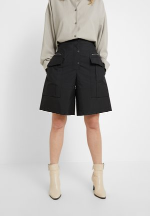 CARGO SHORT - Kraťasy - black