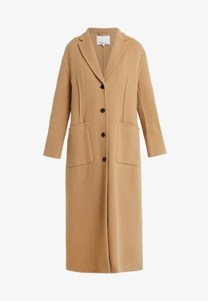 DOUBLE FACED TAILORED COAT - Classic coat - tan