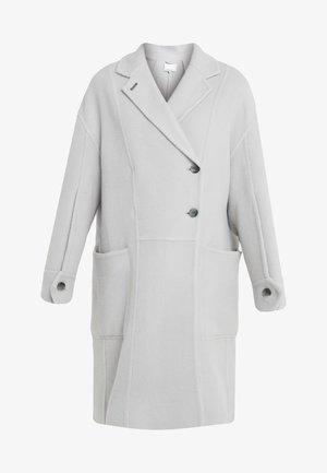LONG OVERSIZED COAT - Płaszcz wełniany /Płaszcz klasyczny - light grey
