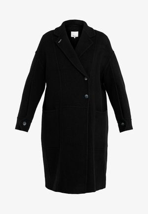 LONG OVERSIZED COAT - Cappotto classico - black