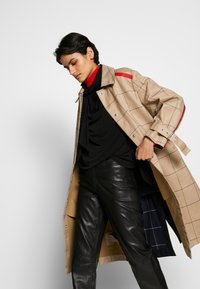 3.1 Phillip Lim - WINDOW PANE SIDE SLIT - Trench - beige - 4