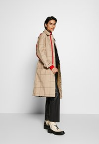 3.1 Phillip Lim - WINDOW PANE SIDE SLIT - Trench - beige - 1