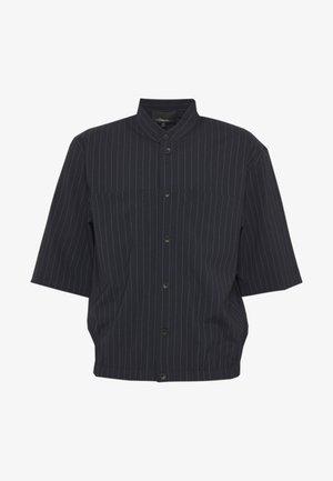 PINSTRIPE BLOUSON - Shirt - navy
