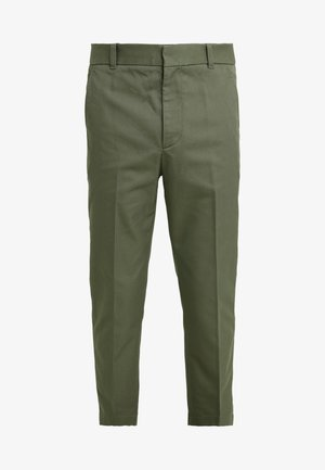 CLASSIC SADDLE PANT CROPPED - Pantalones - army