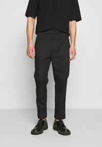 3.1 Phillip Lim - CLASSIC SADDLE PANT CROPPED - Pantalon classique - black - 0