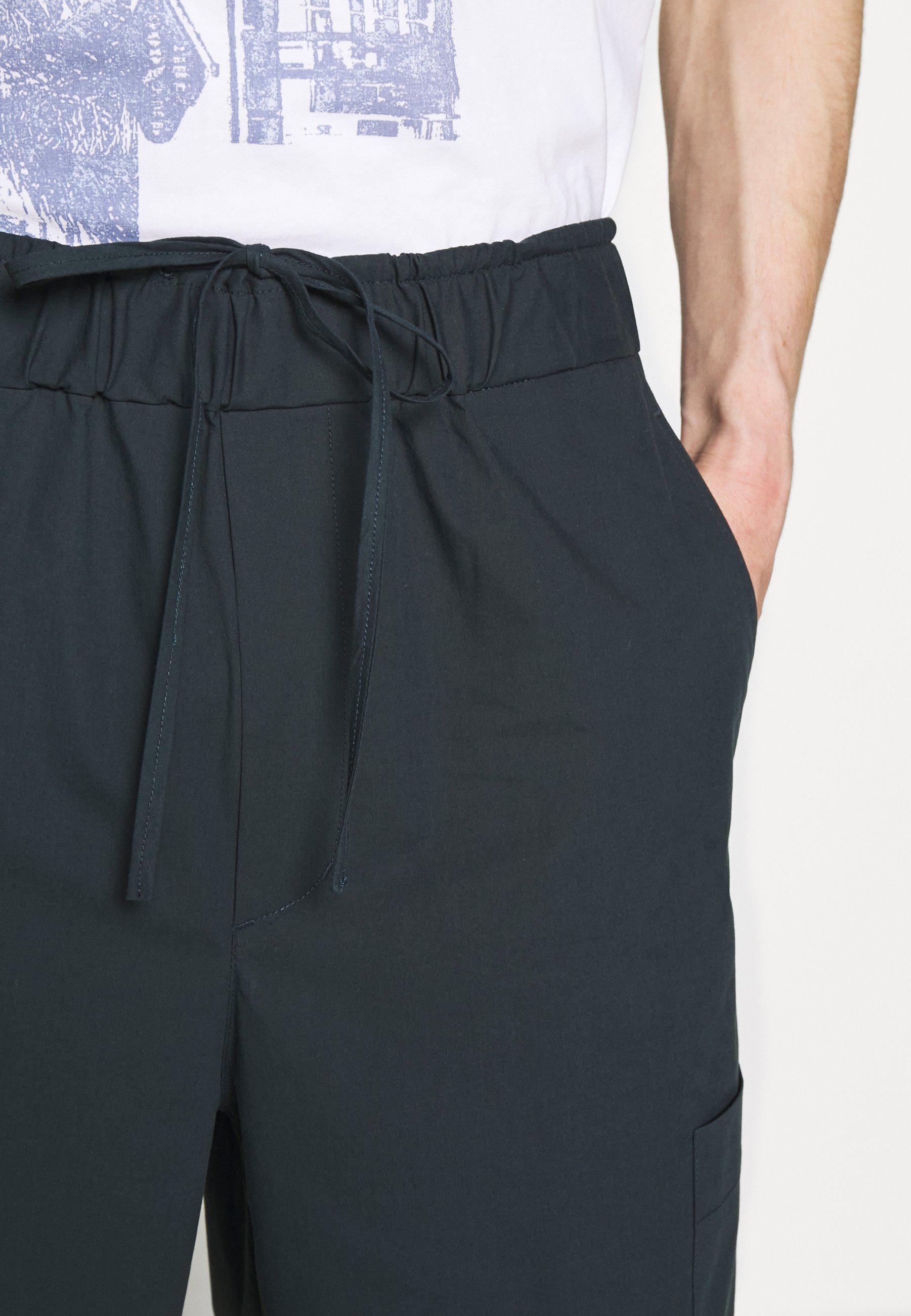 3.1 Phillip Lim WASHED PULL ON SHORT - Shorts - marine