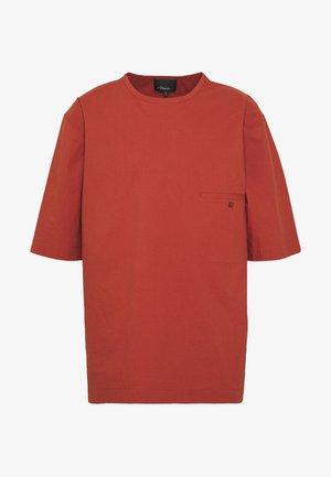 BOXY WASHED - Košile - rust