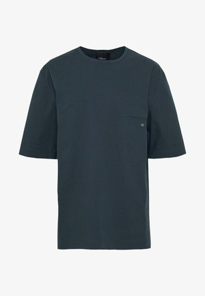 BOXY WASHED - Hemd - marine