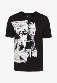 3.1 Phillip Lim - POSTCARD PERFECT TEE - T-shirt imprimé - black - 5