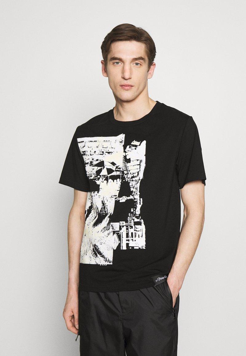 3.1 Phillip Lim - POSTCARD PERFECT TEE - T-shirt imprimé - black