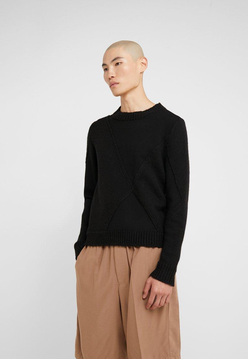 3.1 Phillip Lim - TEXTURED - Jumper - black