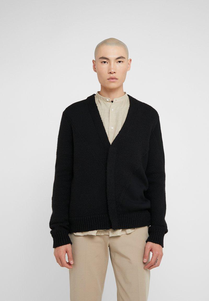 3.1 Phillip Lim - TEXTURED - Cardigan - black