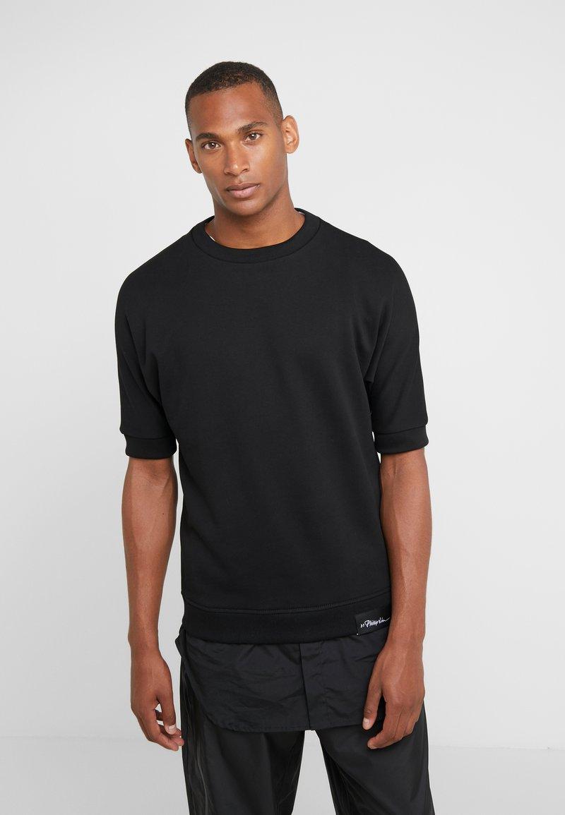 3.1 Phillip Lim - POPLIN - Print T-shirt - black