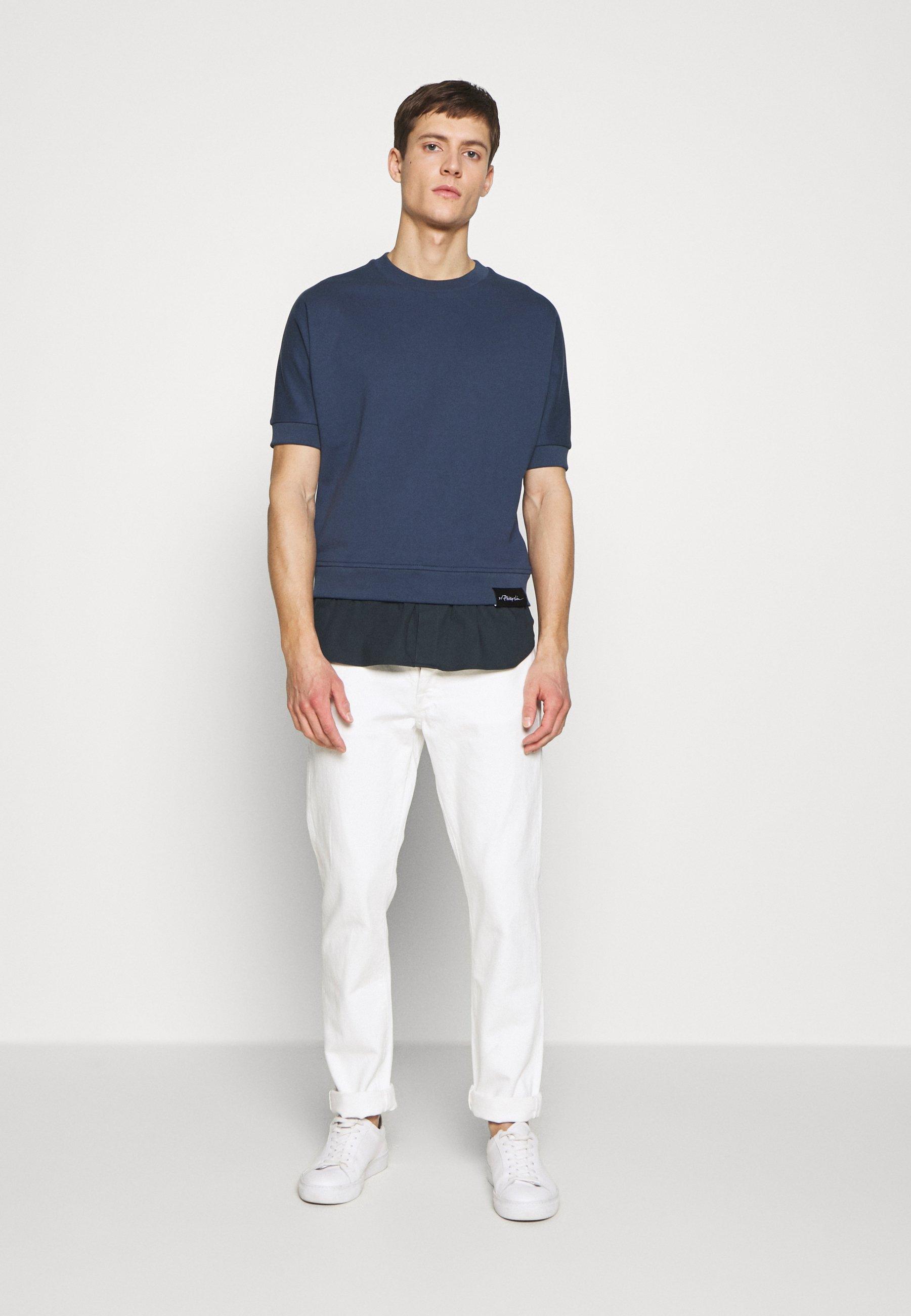 3.1 Phillip Lim Poplin - Sweatshirts Petrol Blue
