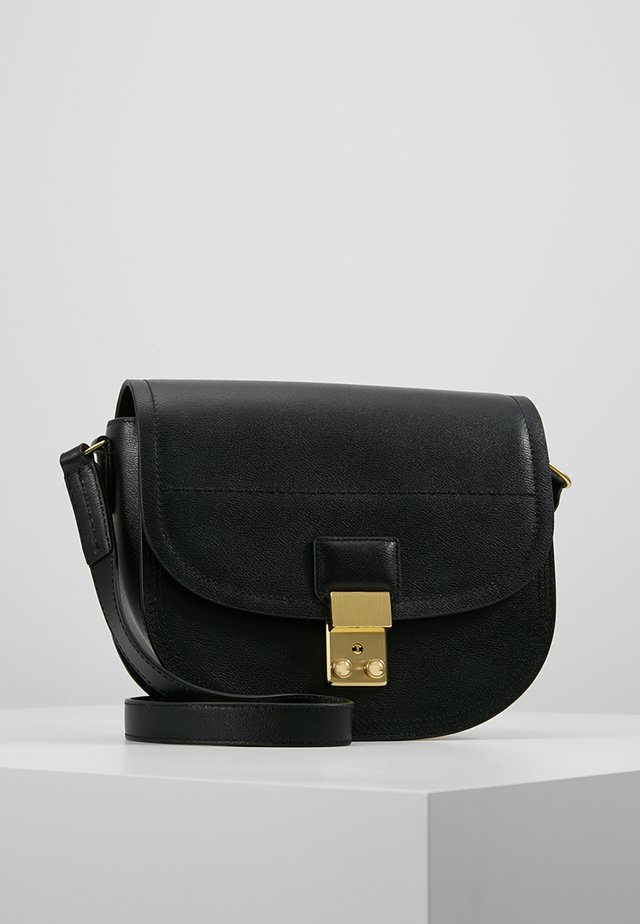 PASHLI SADDLE - Sac bandoulière - black