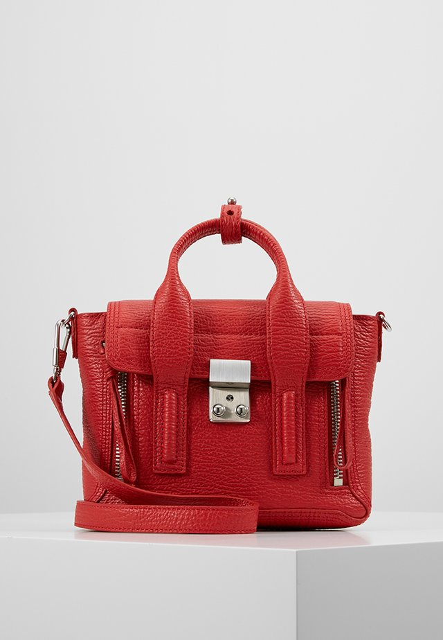 PASHLI MINI SATCHEL - Axelremsväska - red