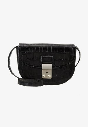 PASHLI MINI SADDLE BELT BAG - Marsupio - black