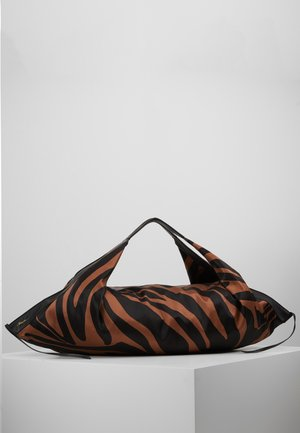 LUNA LARGE ZEBRA - Tote bag - black/ multi