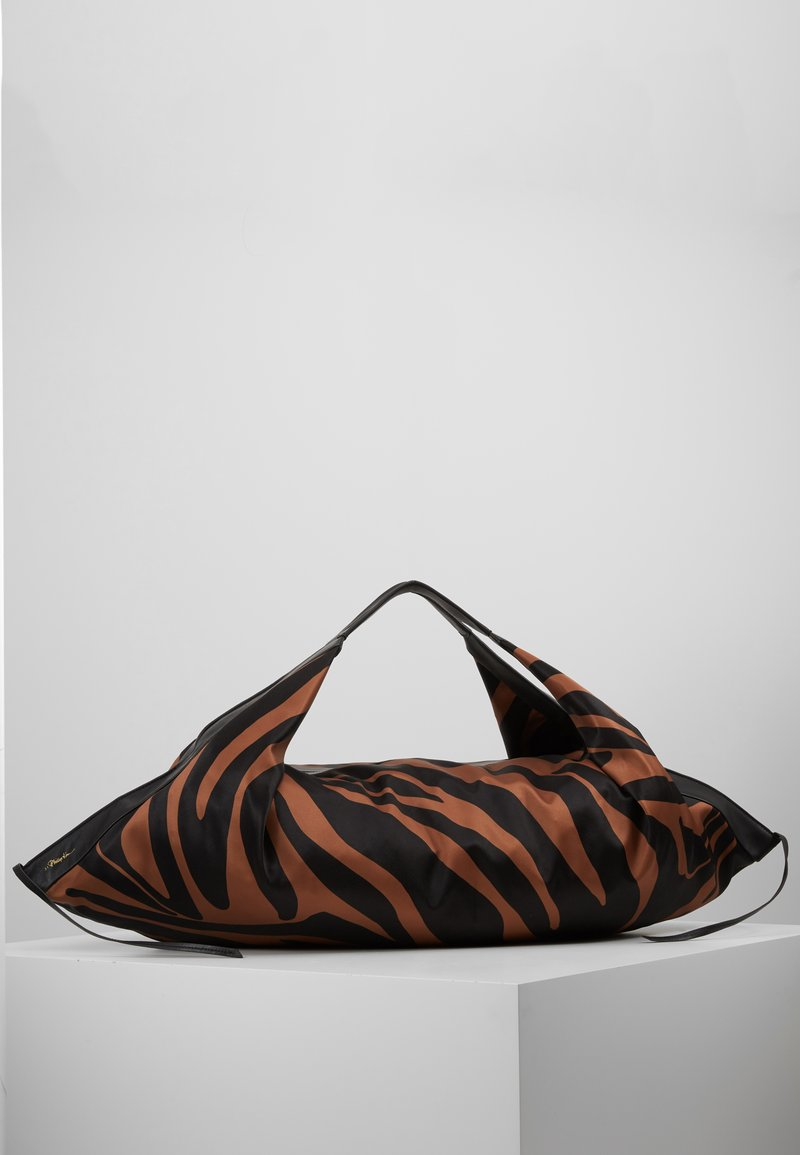 3.1 Phillip Lim - LUNA LARGE ZEBRA - Cabas - black/ multi