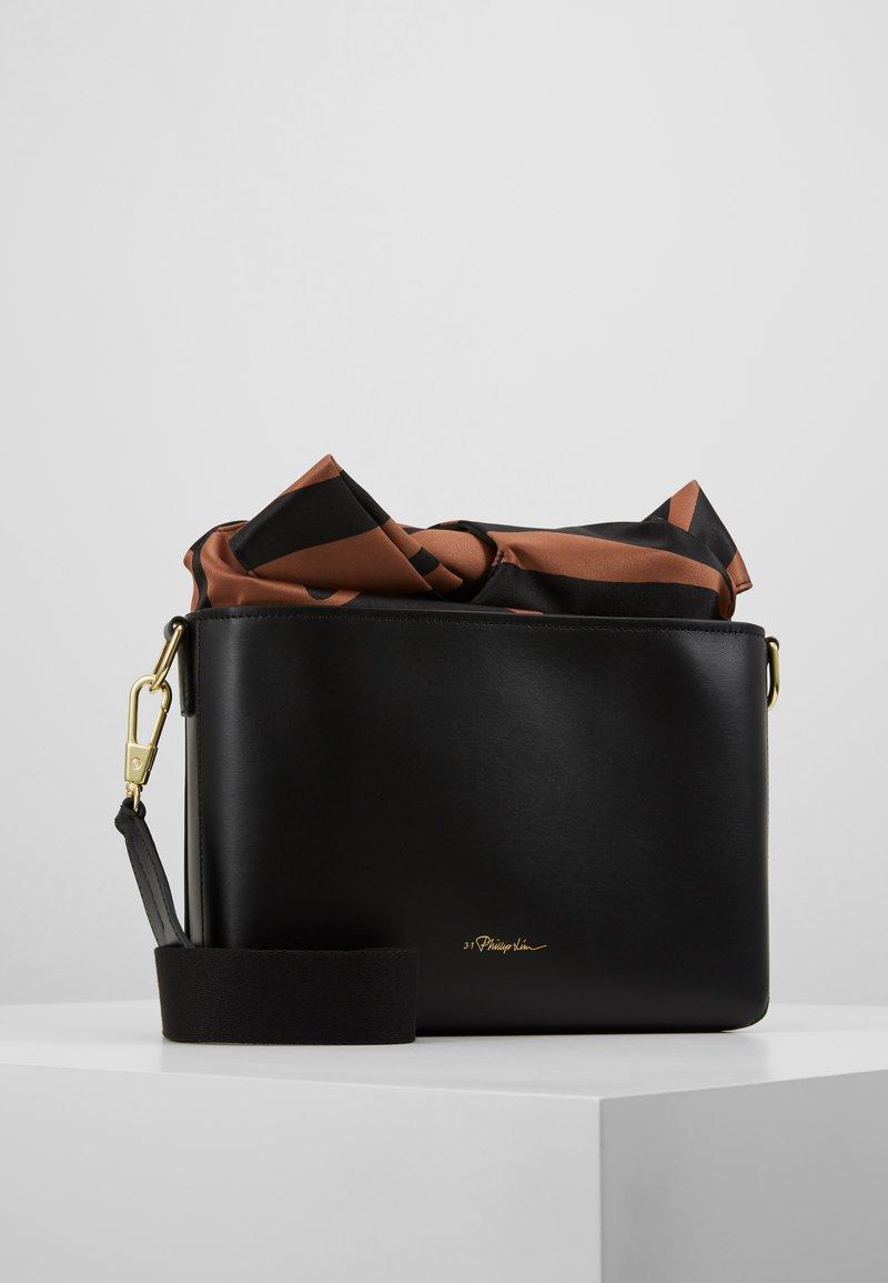 3.1 Phillip Lim - CLAIRE CROSSBODY  - Håndtasker - black multi