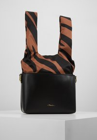 3.1 Phillip Lim - CLAIRE CROSSBODY  - Kabelka - black multi - 5