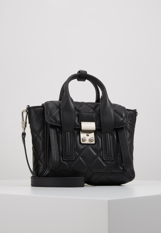 PASHLI MINI SATCHEL - Handväska - black