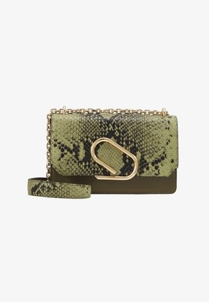 ALIX CHAIN - Across body bag - green