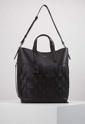 ODITA MODERN LATTICE SHOPPER - Shopper - black