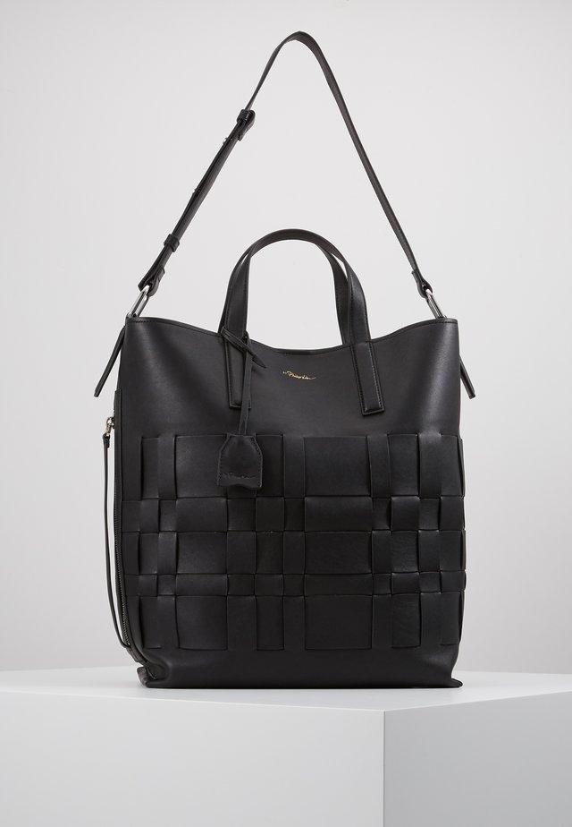 ODITA MODERN LATTICE SHOPPER - Shopping bags - black