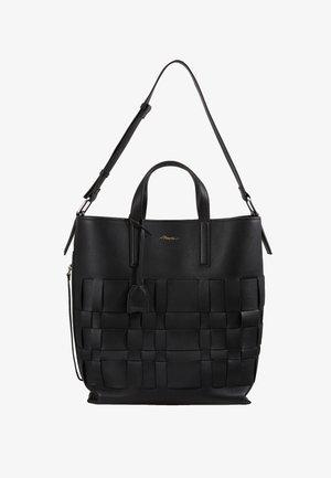 ODITA MODERN LATTICE SHOPPER - Shopping bag - black