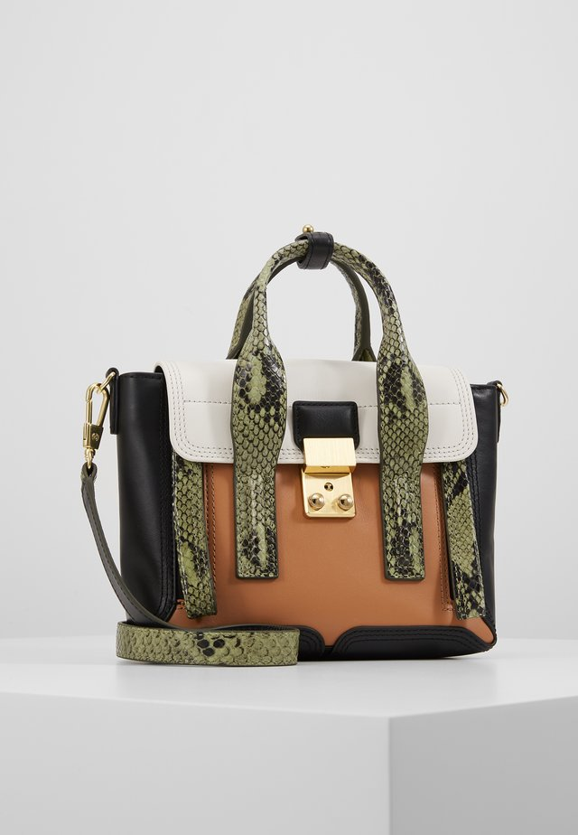 PASHLI MINI SATCHEL - Handväska - green/multi