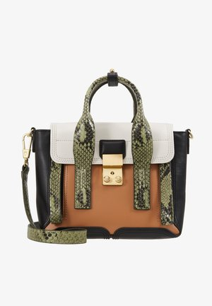 PASHLI MINI SATCHEL - Kabelka - green/multi