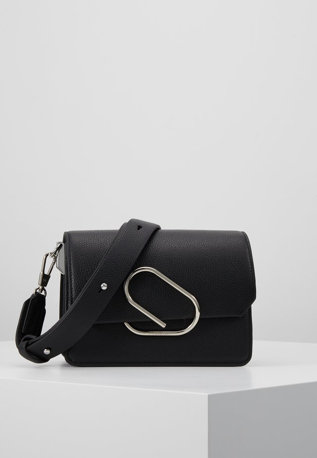 ALIX MINI SHOULDER BAG - Axelremsväska - black