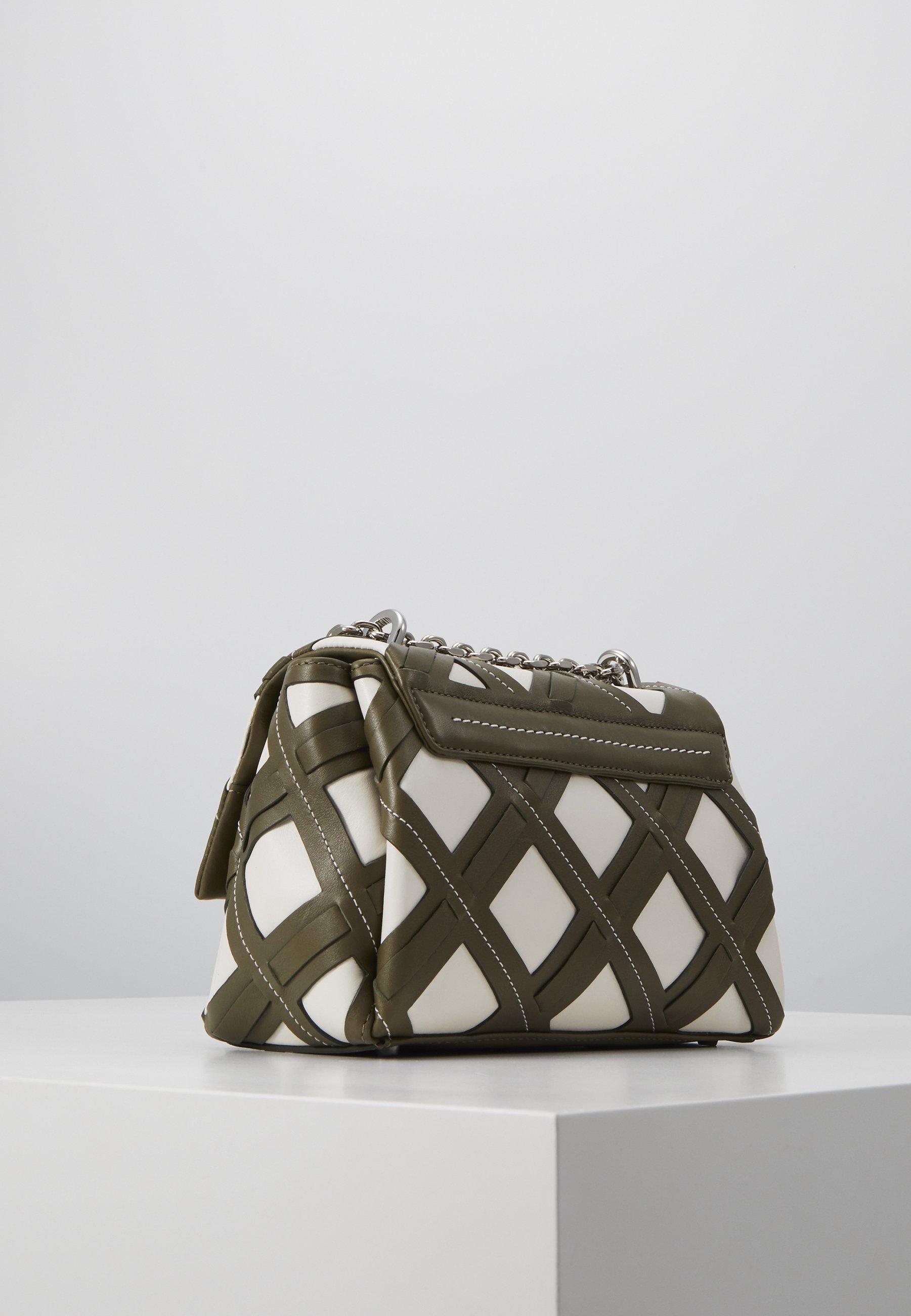 3.1 Phillip Lim Alix Soft Chain Cutout - Across Body Bag Military Multi