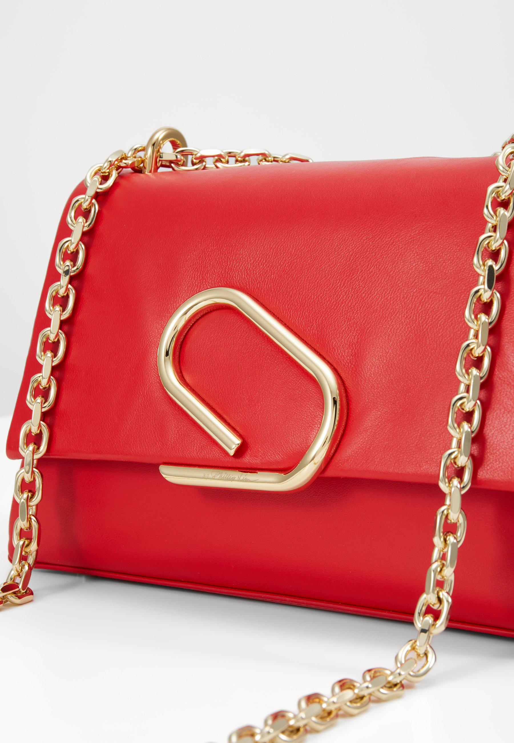 3.1 Phillip Lim ALIX SOFT CHAIN - Borsa a tracolla - red