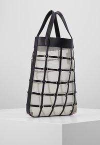 3.1 Phillip Lim - BILLIE MINI TWISTED CAGE TOTE - Tote bag - black - 3