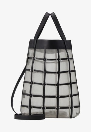 BILLIE MINI TWISTED CAGE TOTE - Shopping bag - black
