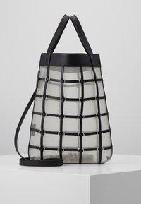 3.1 Phillip Lim - BILLIE MINI TWISTED CAGE TOTE - Tote bag - black - 0