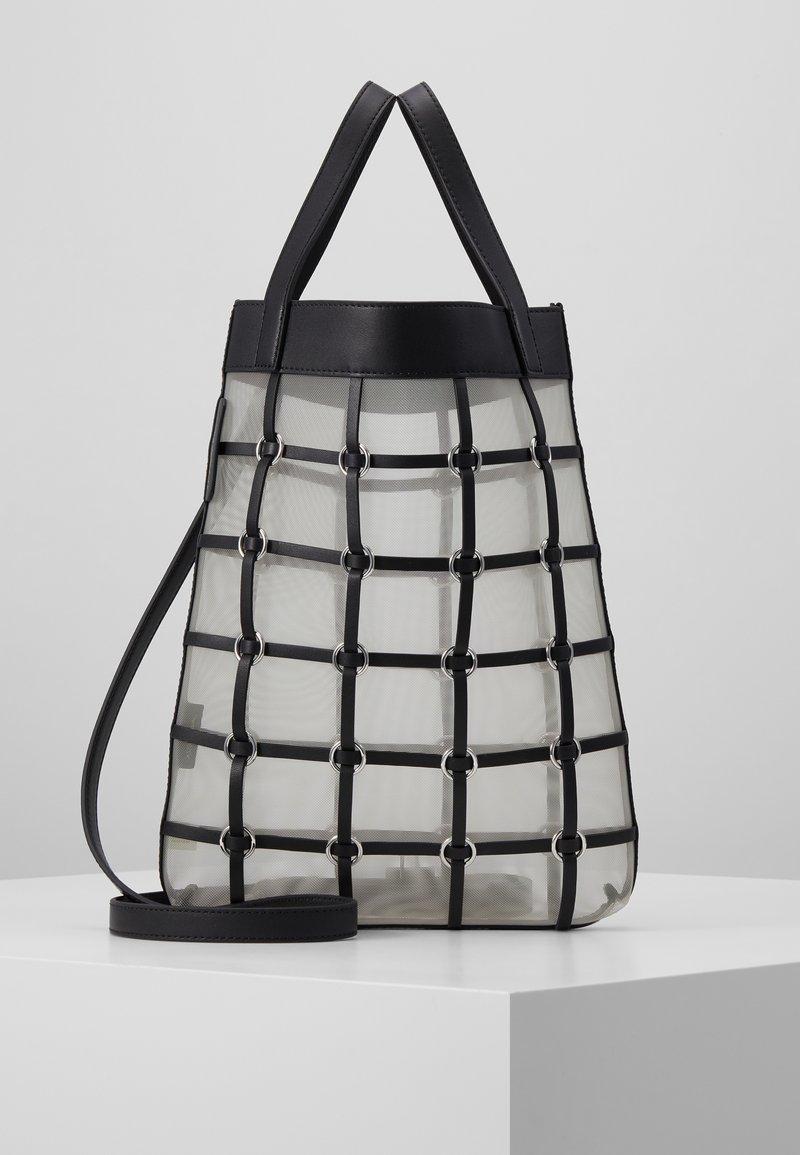 3.1 Phillip Lim - BILLIE MINI TWISTED CAGE TOTE - Tote bag - black