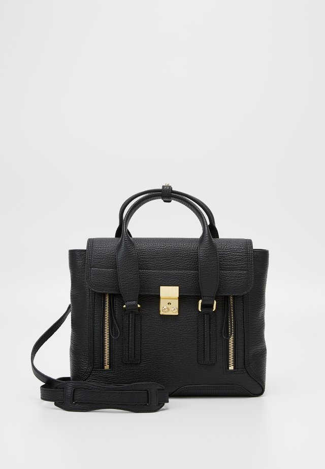 PASHLI MEDIUM SATCHEL - Handväska - black