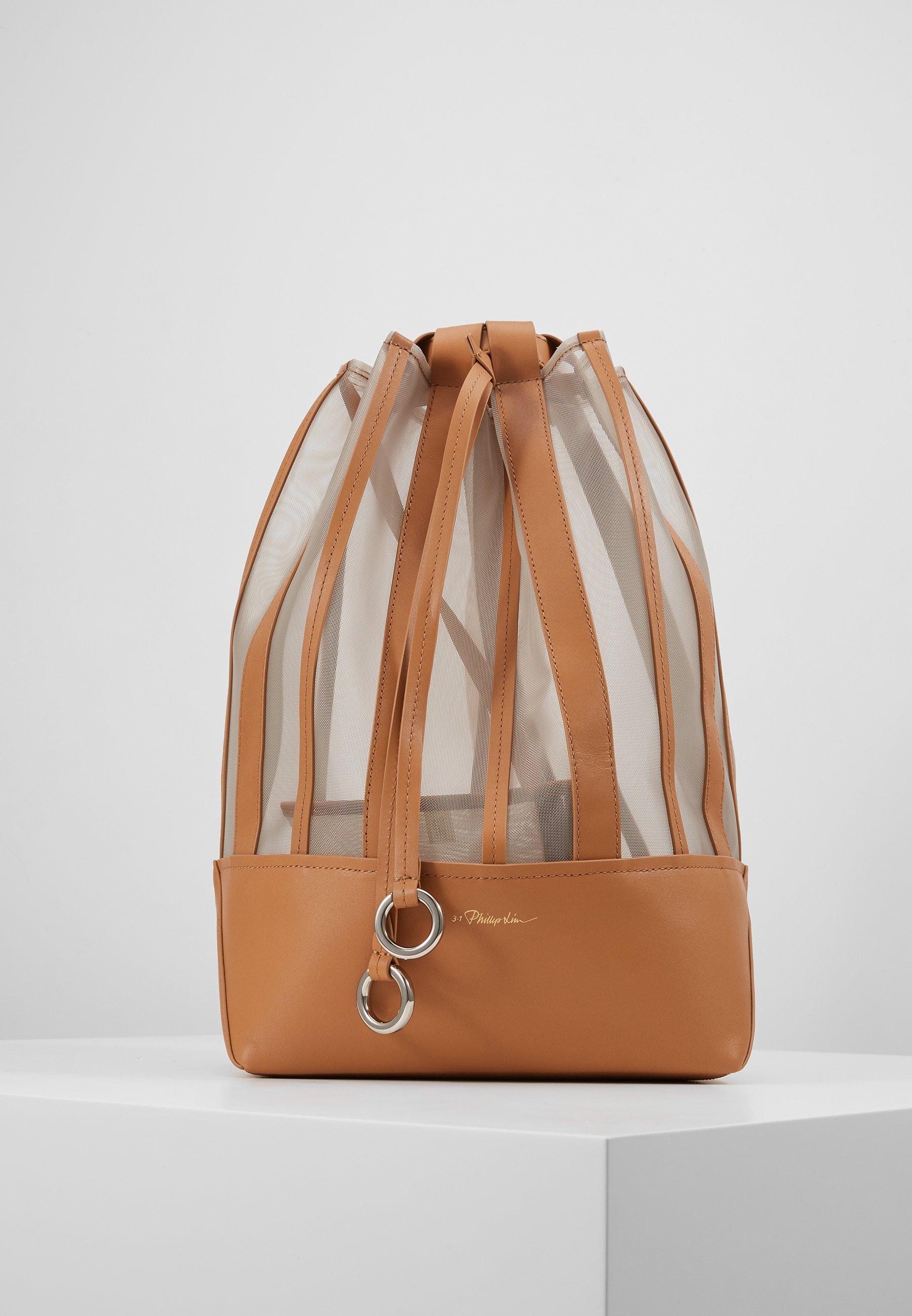 3.1 Phillip Lim Billie Medium Drawstring Backpack - Plecak Camel