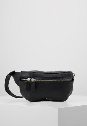 SLIM BUMBAG - Bum bag - black