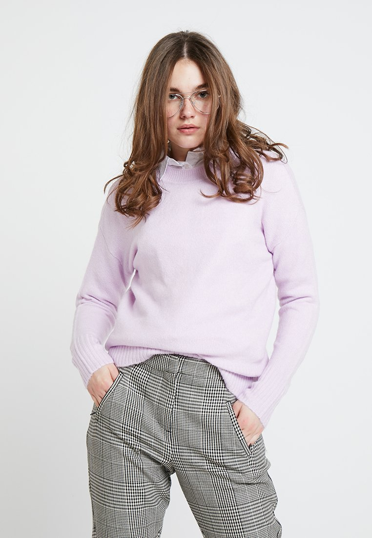 Dorothy Perkins - ANGELICA LEAD IN STRETCH JUMPER - Strickpullover - lilac