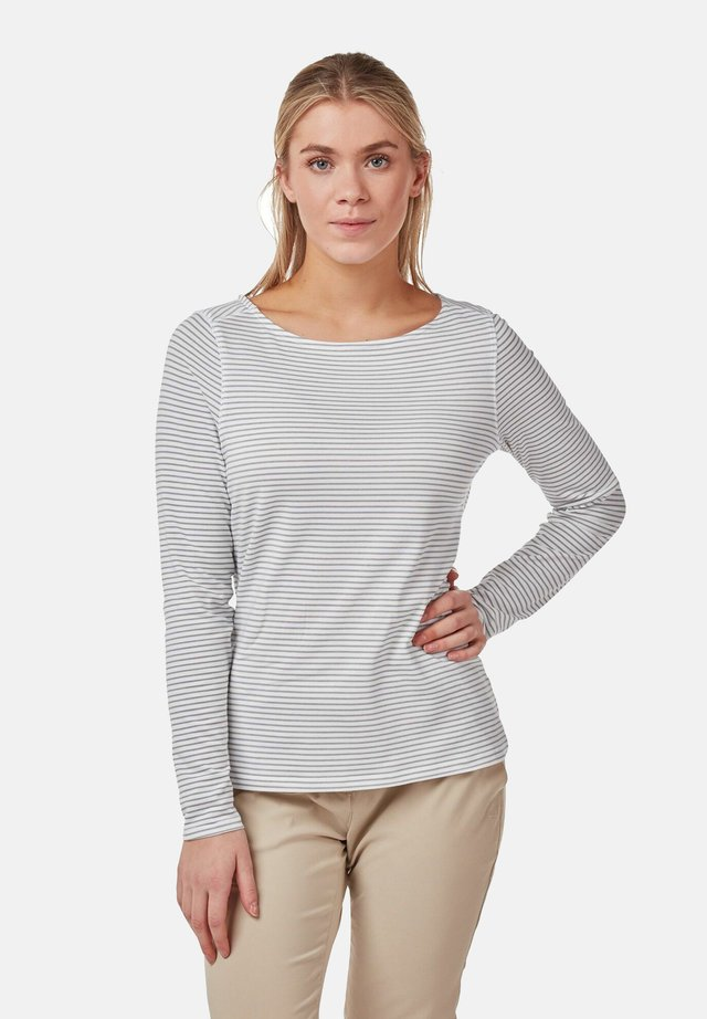 NOSILIFE ERIN LONGSLEEVE - Long sleeved top - soft grey